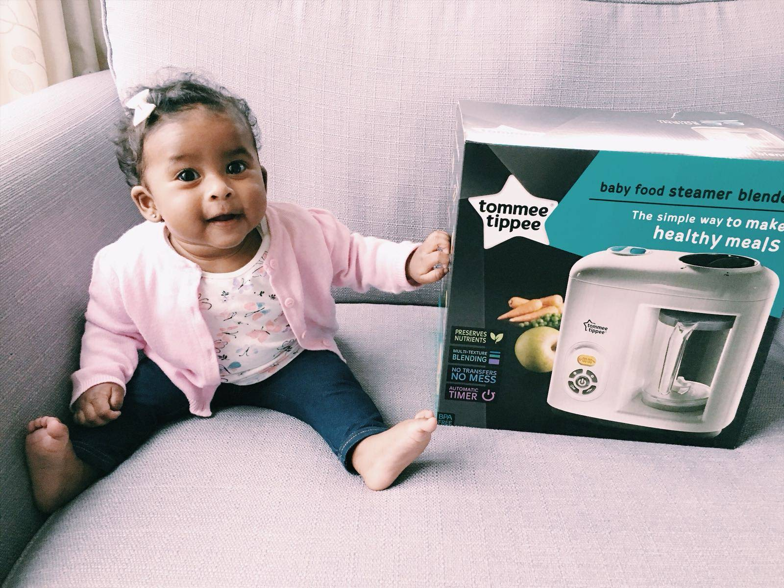 Preparing Baby Food At Home With The Tommee Tippee Baby Food